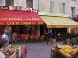 Cafe  Aix-En-Provence  Bouches-Du-Rhone  Provence  France