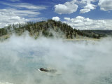 Excelsior Geyser Crater  Yellowstone National Park  Unesco World Heritage Site  USA