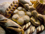 Breads Including Kugelhopfs  Pretzels and Plaited Bread  Alsace  France