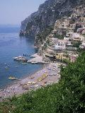 Positano  Costiera Amalfitana  Unesco World Heritage Site  Campania  Italy