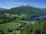 View Over Balquhidder and Loch Voil  Stirling  Central Region  Scotland  United Kingdom