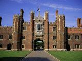 Hampton Court Palace  Greater London  England  United Kingdom