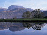 Ben Nevis from Corpach  Highland Region  Scotland  United Kingdom