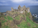 Dunluce Castle  County Antrim  Ulster  Northern Ireland  United Kingdom