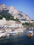 Marina Grande  Island of Capri  Campania  Italy  Mediterranean