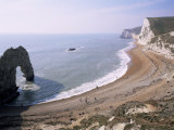 Durdle Door and Bats Head  Dorset  England  United Kingdom