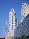 City Centre Buildings  Toronto  Ontario  Canada