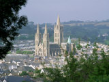 Truro Cathedral and City  Cornwall  England  United Kingdom