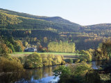 River Tummel  Pitlochry  Tayside  Scotland  United Kingdom Europe