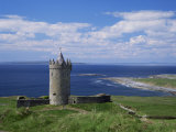 Doolin Tower and South Sound  County Clare  Munster  Eire (Republic of Ireland)