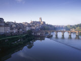 Town of Albi  Tarn River  Tarn Region  France