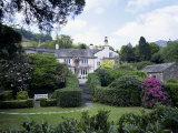 Rydal Mount  the Poet Wordsworth's Home  Lake District  Cumbria  England  United Kingdom