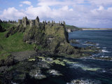 Dunluce Castle  County Antrim  Northern Ireland  United Kingdom