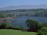The Menai Bridge  Gwynedd  Wales  United Kingdom