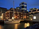 Old Port at Dusk  Halifax  Nova Scotia  Canada