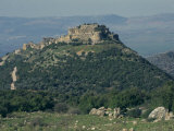 Nimrod Crusader Fort  Galilee Panhandle  Upper Galilee  Israel  Middle East