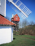 House in the Clouds  with Mill Sail  Thorpeness  Suffolk  England  United Kingdom