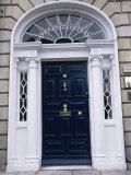 Georgian Doorway  Dublin  Eire (Republic of Ireland)