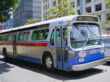 Bus  Downtown San Diego  California  USA