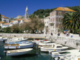 The Tiny Inner Harbour  Hvar Town  Croatia
