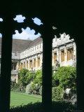 Cloister Quadrangle Detail  Magdalen College  Oxford  Oxfordshire  England  United Kingdom
