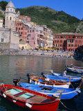 Vernazza  Cinque Terre  Unesco World Heritage Site  Italian Riviera  Liguria  Italy