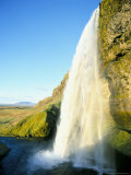 Seljalandsfoss Waterfall  Southern Area  Iceland  Polar Regions