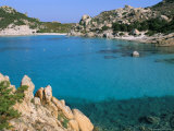 Cala Corsada  Spargi Island  Maddalena Archipelago  Island of Sardinia  Italy  Mediterranean