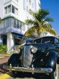 Ocean Drive  South Beach  Miami Beach  Florida  USA