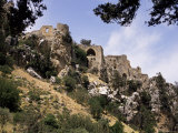 St Hilarion Castle Perched Upon One of Highest Peaks of Kyrenia Chain  North Cyprus  Cyprus