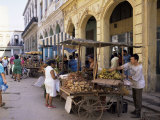 Street Market  Old Havana  Havana  Cuba  West Indies  Central America