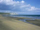 Beach View to Culver Cliff  Sandown  Isle of Wight  England  United Kingdom