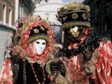 Carnival Costumes  Venice  Veneto  Italy