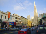 Little Italy  Columbus Avenue  North Beach  San Francisco  California  USA