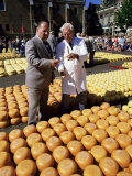 A Bargain is Struck  Friday Cheese Auction  Alkmaar  Holland