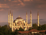 The Blue Mosque  Unesco World Heritage Site  Istanbul  Turkey