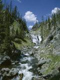 Rapids  Yellowstone National Park  Unesco World Heritage Site  Wyoming  USA