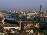 General View from the Piazza Michelangelo  Florence  Tuscany  Italy