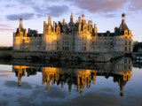 Chateau De Chambord  Unesco World Heritage Site  Loir-Et-Cher  Pays De Loire  Loire Valley  France