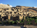Kasbah of Ait Benhaddou  Atlas Mountains  Morocco  North Africa  Africa
