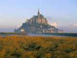 Mont Saint Michel  Unesco World Heritage Site  Manche  Normandy  France