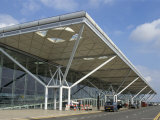 Stansted Airport Terminal  Stansted  Essex  England  United Kingdom