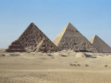 Pyramids at Giza  Unesco World Heritage Site  Near Cairo  Egypt  North Africa  Africa
