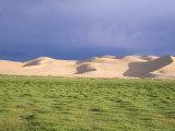 Khongryn Dunes  Gobi Desert  Gobi National Park  Omnogov Province  Mongolia  Central Asia