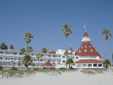 San Diego's Most Famous Building  Hotel Del Coronado Dating from 1888  San Diego  USA