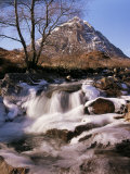 Mountain Stream  Highland Region  Scotland  United Kingdom