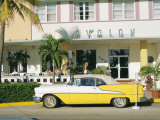The Avalon Hotel  an Art Deco Hotel on Ocean Drive  South Beach  Miami Beach  Florida  USA