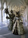 Carnival Costumes  Venice  Veneto  Italy