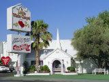 The Little White Chapel  Las Vegas  Nevada  USA