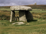 Lanyon Quoit  Cornwall  England  United Kingdom